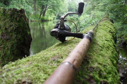 jak łowić w rzece