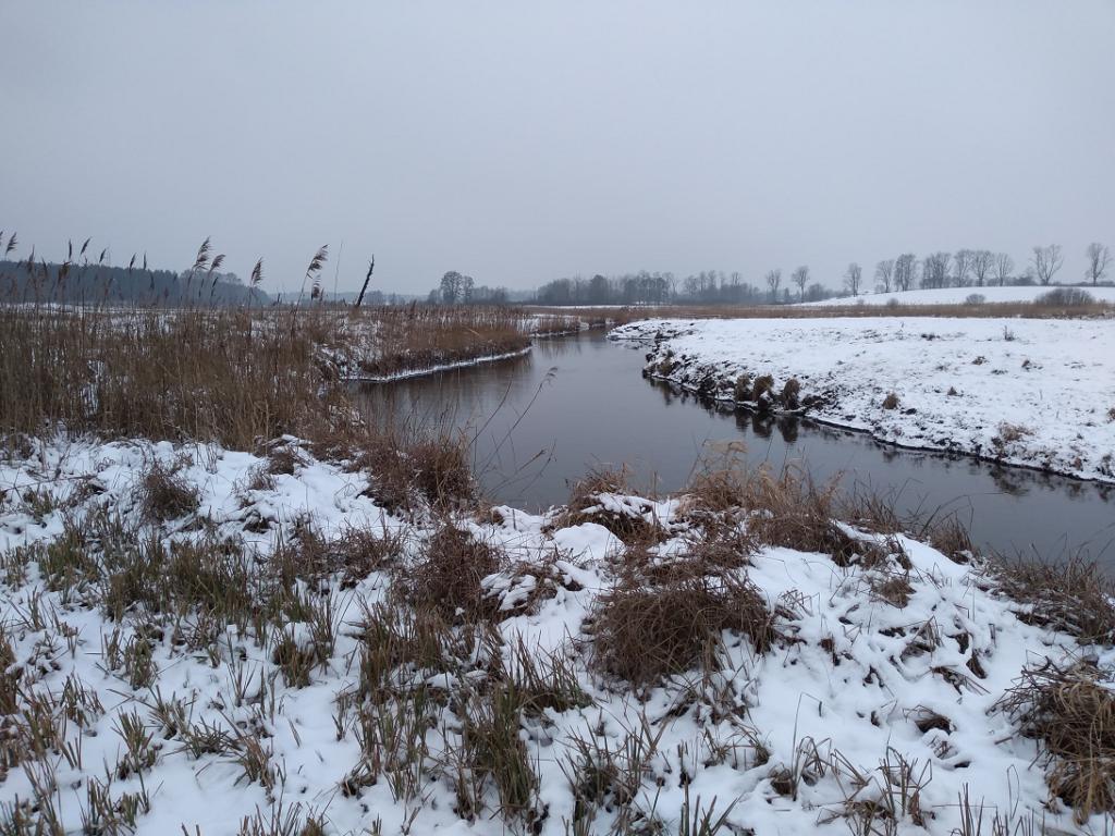 rzeka pstrągowa Pasłęka
